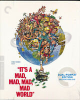 EBOND It's A Mad Mad Mad Mad World The Criterion Collection BLURAY + DVD D302007