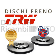 2 DISCHI FRENO ANTERIORE TRW FIAT STILO MULTIW. (192)