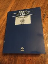 New West's Florida Criminal Laws and Rules, 2017 Edition Paperback MSRP $272.70
