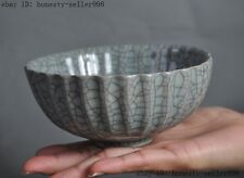 collect Rare Chinese China Official Kiln Old porcelain glaze bowls bowl Cup