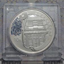 10 Yuan 2008 - China - Olympia in Peking - Das Hofhaus 1 oz Ag