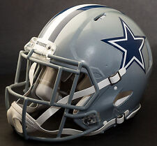 DALLAS COWBOYS  NFL Authentic GAMEDAY Football Helmet w/S2EG-SW-SP Facemask