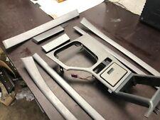 BMW OEM E39 M5 5 Series M Sport Silver GITTERGALVANIK Interior Trim Set Kit LHD