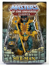 "MASTERS OF THE UNIVERSE Classics_MER-MAN 6"" figure_Exclusive Limited Edition_MIP"