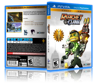 Ratchet & Clank Collection - Custom PlayStation Vita Cover and Case.NO GAME