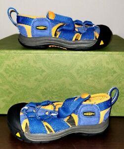 Keen Toddler Newport H2 Water Sandal Boys Blue Orange Black