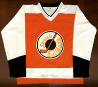 #2 Ogie Ogilthorpe Syracuse Bulldogs Slap Shot Movie Hockey jersey All Stitched