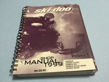 BRP SKI DOO 1999 SHOP MANUAL P/N 484200001 FOR TUNDRA/TOURING/FORMULA/SKANDIC