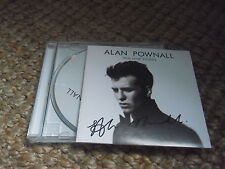 Alan Pownall signed autographed cd True Love Stories play pre-order copy
