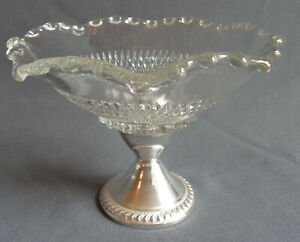 Vintage Tableware Duchin Creation Sterling Silver Weighted Dish Candle Holder
