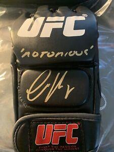 "Conor McGregor Autographed Signed UFC Glove ""Notorious"" Inscription"
