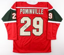 Jason Pominville Signed Wild Jersey (Beckett COA) Playing career 2002–present