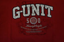 G-Unit G Unit 50 Heavy Weight Red t shirt t-shirt in XL Graphic Tee