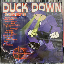 DUCK DOWN PRESENTS (VINYL 2LP)  1999  RARE  BLACK MOON + O.G.C. + HELTAH SKELTAH