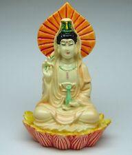 Small Guan Yin Statue on Lotus (Kuan Yin, Kwan Yin)