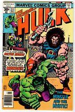 INCREDIBLE HULK #211 - VF/NM 1977 Vintage Marvel Comic