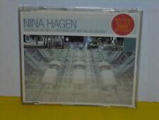 MAXI CD - NINA HAGEN - SCHÖN IST DIE WELT - DER WIND HAT MIR EIN LIED ERZÄHLT
