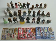 KINDER FERRERO SURPRISE SERIE LORD of RINGS TRILOGIA RAR CAKE TOPPERS +1 CARTINA