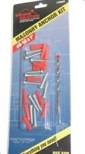 """Masonry Anchor Kit *NEW* #8-10 x 1""""   #58603"""