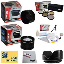 10 Piece Ultimate Lens Package For the Canon PowerShot SX40 HS SX30 SX20
