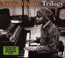 Trilogy - 3 DISC SET - Nina Simone (2010, CD NUOVO)