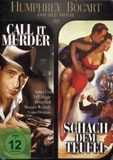 DVD NEU/OVP - Humphrey Bogart Double Movie - Call It Murder / Schach dem Teufel