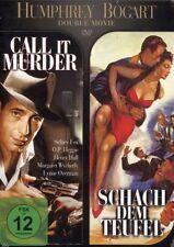 DVD NEU/OVP - Humphrey Bogart Double Movie - Call It Murder / Schach dem Teufel