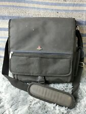 SONY PLAYSTATION PS1 PS2 OFFICIAL MESSENGER BAG SYSTEM CARRYING CASE orig (bm)