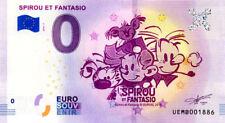 95 NEUVILLE-SUR-OISE Spirou et Fantasio, 2018, Billet 0 € Souvenir