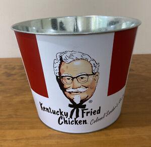 KFC Kentucky Fried Chicken Metal Collectors Bucket Ice Bucket