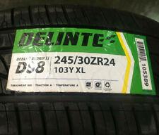 1 New 245 30 24 Delinte Desert Storm II DS8 Tire