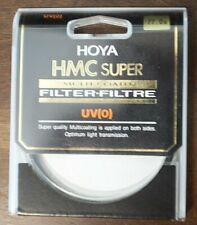 Hoya HMC Super Multicoated UV(0) 77mm filter