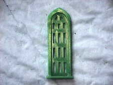 Green Arched window for Marx Church O/S scale