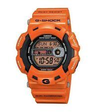 Casio G-Shock GULFMAN RESCUE (Moon Phase, Tide, Auto light) watch - orange/black