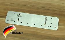 Dübelleiste Dübellehre Bohrlehre für Lochreihen 32er System