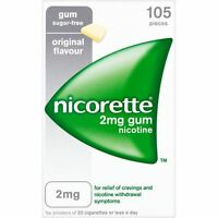 Nicorette Original 2mg Gum - 6 Pack