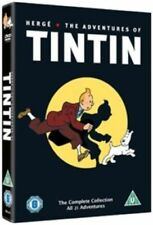 The Adventures of TINTIN All 21 Episodes Complete Collection Region 2 5xdvd