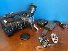 Panasonic AG-DVX100A 3 CCD Video Camera / Recorder Camcorder - Black