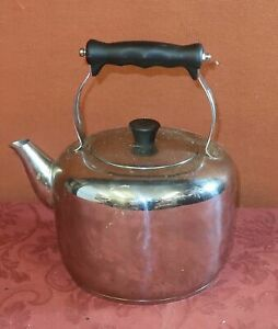 Stellar Traditional Stainless Steel Stove Top 3.3L Kettle
