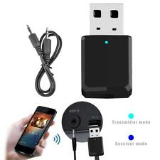 2 in 1 Mini Wireless Bluetooth 5.0 Transmitter Receiver 3.5mm AUX Stereo Adapter
