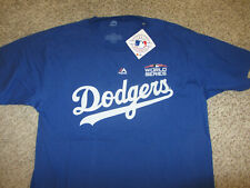 NWT NEW Los Angeles Dodgers MLB Baseball T-Shirt Fanatics World Series Blackerby