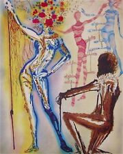 The Ballet of the Flowers 1989 Limited Edition Litho Salvador Dali -1st Edition
