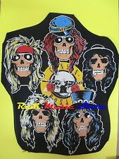TOPPA patch GUNS N ROSES 36x44 SAGOMATA cm (*)  cd dvd lp mc vhs live promo