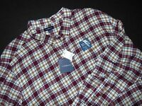 NWT, CROFT & BARROW Flannel Shirt ~ 3XB ~ Big & Tall ~ Signature Flannel
