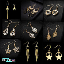 Alloy Beauty Yellow Gold Plated Costume Earrings