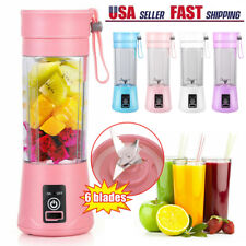 New listing 380ml Portable Juicer Cup Mini Blender Usb Rechargeable Smoothies Mixer
