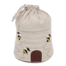Drawstring Knitting Bag - Bee Hive - Hobbygift Premium - HGDSBA347