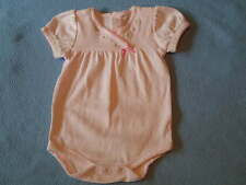 Rene Rofe Divine Little Girls Romper With Embroidery, Size 3-6 Months  - NEW!