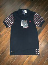 NWT Fred Perry x Pacman Ltd Edition Polo Shirt - Sz XS Atari / Gamer / Mod