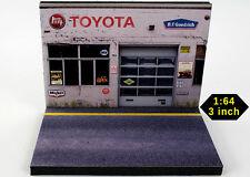Diorama présentoir Toyota - 3 inch   1/64ème - #3in-2-L-L-001
